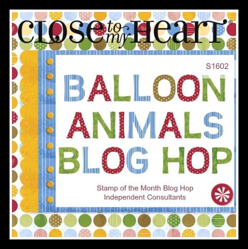 CTMH February 2016 SOTM - Balloon Animals (S1602)