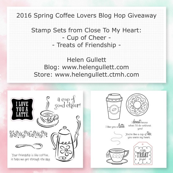 2016 Spring Coffee Lovers Bloghop - Card 1 by Helen Gullett @ Living My Given Life | http://wp.me/p1DmW0-2gs #creatingjoyfully #springclh #coffeelovingcardmakers #coffeelovingpapercrafters #handmadecard #cardmaking #papercrafting #watercoloring #silhouetterocks #silhouetteamerica #silhouettecameo #heroarts #timholtz #distresscrayons #fabercastell #gelatos #cansonwatercolorpaper