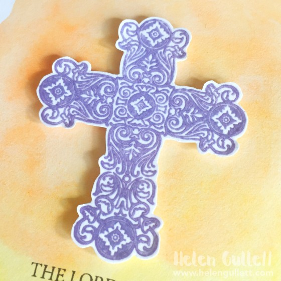 Watercolored and Embossed Easter Card by Helen Gullett --> http://wp.me/p1DmW0-2fO #ctmh #stamping #embossing #watercoloring #eastercard #handmadecard #cardmaking #cleanandsimplecard #papercrafting