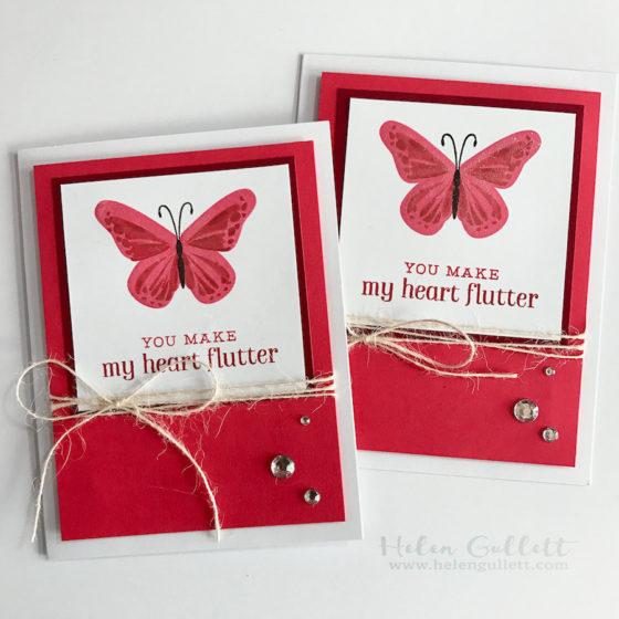 You Make My Heart Flutter - Helen G  Designs