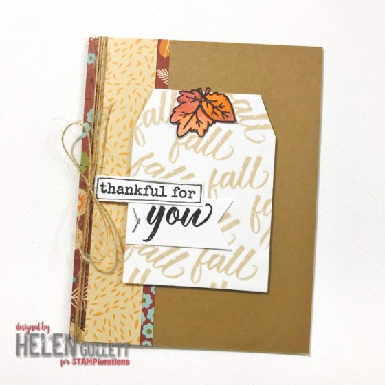3rd Annual STAMPlorations Giving Thanks Blog Hop