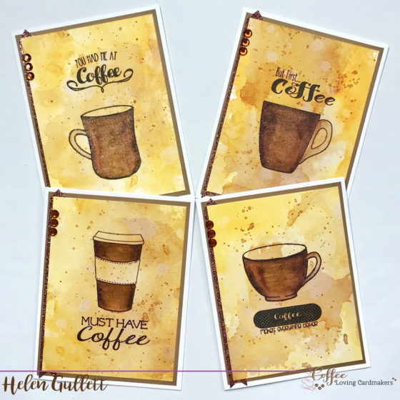 Thursday Coffee Break: Coffee Card Set With Joy Clair