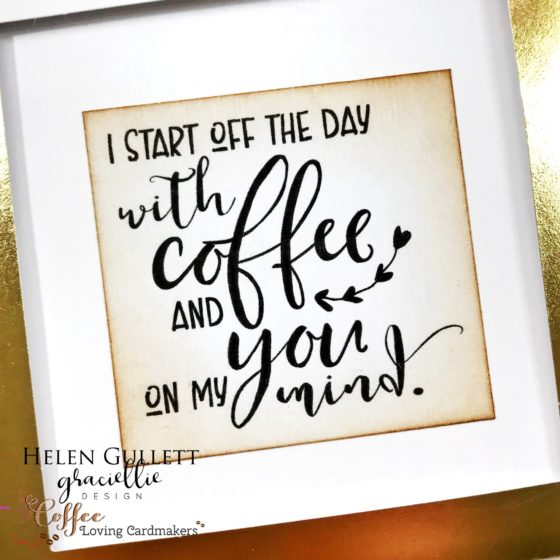 Coffee and Love Collaboration Blog Hop and Giveaway - Surprise Pop Up Card
