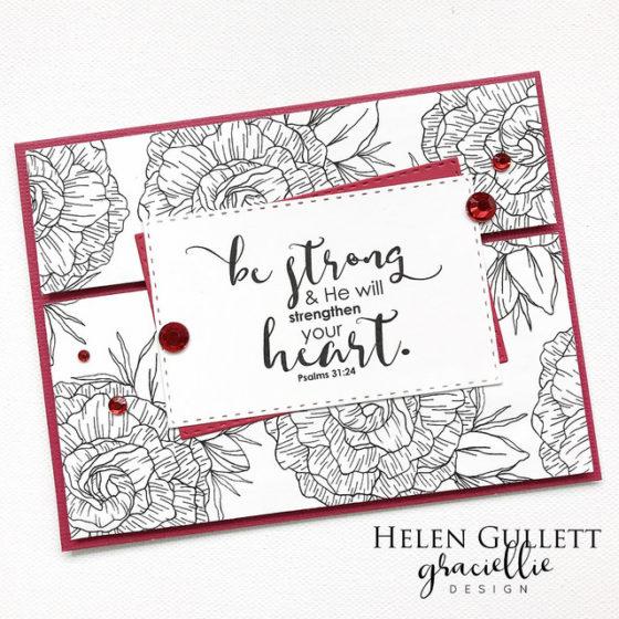 Graciellie Design God's Grace Encouragement Cards