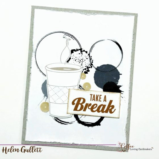 THURSDAY COFFEE BREAK: QUICK AND EASY CARDS WITH DIGITAL STAMPS