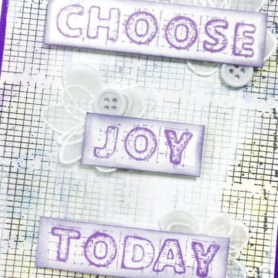Precious Remembrance Project Thursday - Choose Joy Today