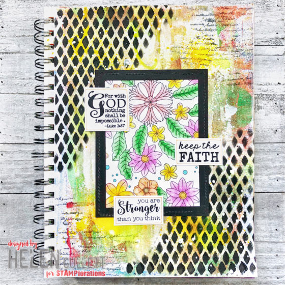 Happy National Coloring Book Day Blossom Bliss Blog Hop Helen G Designs