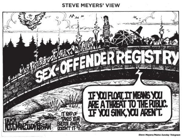 Sex-offender humor from OnceFallen website.