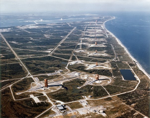 Missile Row at Cape Canaveral