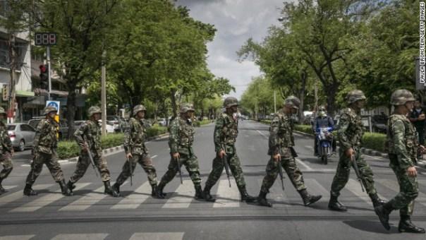 Thailand's Non-Violent Coup