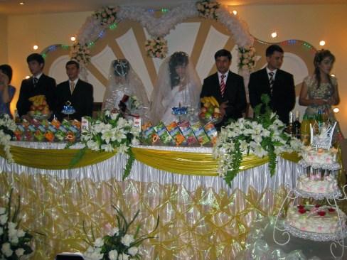 Double wedding day in Tashkent, Uzbekistan (2008)
