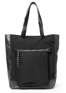 Lanvin panelled leather and twill tote, Mirande Kerr,Chloe bag,helenhou, helen hou, the art of accessorizing, accessoriseart, celebrity style, street style,