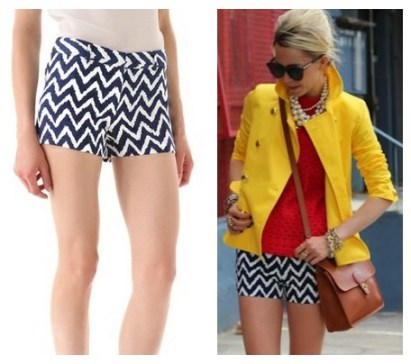 Atlantic pacific,Milly Dickies Shorts, print shorts, stripe shorts,The Art of Accessorizing-HelenHou.com