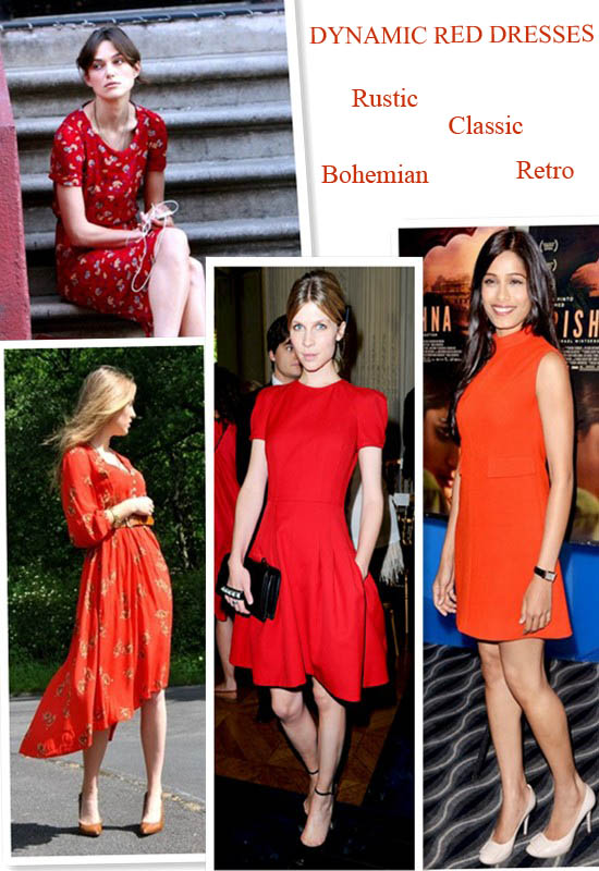 red dress,Keira Knightley,Abbie Saunders, Clemence Poesy,and Freida Pinto,street style,Paris Couture Fashion Week,red tea dress, strap sandals,symmetric hemmed dress,Valentino stud clutch, helenhou, helen hou, the art of accessorizing, accessoriseart, celebrity style, street style, lookbook, model off-duty,red carpet looks,red carpet looks for less, fashion, style, outfits, fashion guru, style guru, fashion stylist, what to wear,