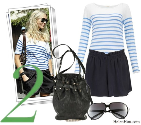 Breton stripe top,nautical stripe tee shirt,what to wear with stripe shirt, street style, Monrow Scoop Neck stripe Top,Topshop PULL ON SILK SHORTS, silk shorts, Prada Aviator Sunglasses,Alexander Wang Diego Bucket Bag, helenhou, helen hou, the art of accessorizing, accessoriseart, celebrity style, street style, lookbook, model off-duty,red carpet looks,red carpet looks for less, fashion, style, outfits, fashion guru, style guru, fashion stylist, what to wear, fashion expert, blogger, style blog, fashion blog,look of the day, celebrity look,celebrity outfit,designer shoes, designer cloth,designer handbag,
