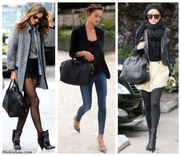 Miranda Kerr, Karmen Pedaru,Nicole Richie ,Givenchy Antigona,Isabel Marant Khan suede-trimmed bouclé wool-blend coat,Isabel Marant Berry embroidered boots,Valentino studded pumps,denim shirt, skirts in winter, black scarf,  helenhou, helen hou, the art of accessorizing, accessoriseart, celebrity style, street style, lookbook, model off-duty,red carpet looks,red carpet looks for less, fashion, style, outfits, fashion guru, style guru, fashion stylist, what to wear, fashion expert, blogger, style blog, fashion blog,look of the day, celebrity look,celebrity outfit,designer shoes, designer cloth,designer handbag,