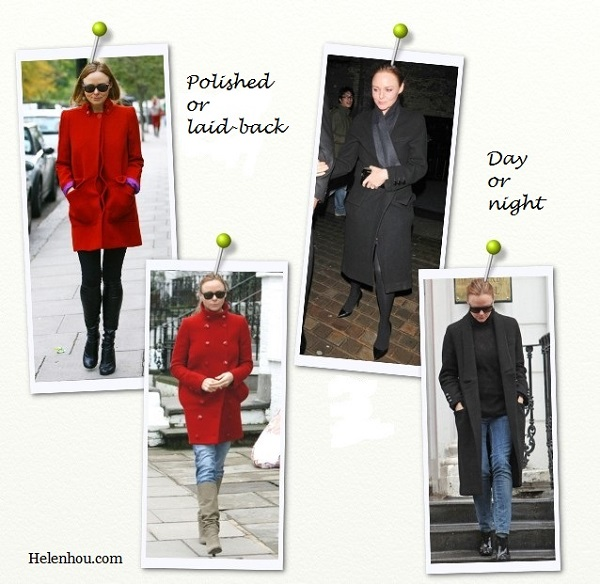 Stella Mccartney, how to transform day to night,winter coat, white coat, red coat, blue coat, stella mccartney collection, how to wear winter coat, how to wear colored coat, how to accessorizies coat,   helenhou, helen hou, the art of accessorizing, accessoriseart, celebrity style, street style, lookbook, model off-  duty,red carpet looks,red carpet looks for less, fashion, style, outfits, fashion guru, style guru, fashion stylist, what   to wear, fashion expert, blogger, style blog, fashion blog,look of the day, celebrity look,celebrity outfit,designer   shoes, designer cloth,designer handbag,
