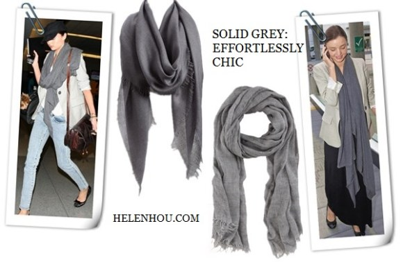 Miranda Kerr, Olivia Palermo , Stella McCartney,winter scarf, how to wear a winter scarf, how to choose scarf, grey scarf, brown infinity scarf,  Stella McCartney printed scarf, houndstooth printed jacket, silk square scarf, Nordstrom Cashmere Blend Eyelash Wrap, Rag & Bone Clare Scarf - Grey,    helenhou, helen hou, the art of accessorizing, accessoriseart, celebrity style, street style, lookbook, model off-duty,red carpet looks,red carpet looks for less, fashion, style, outfits, fashion guru, style guru, fashion stylist, what to wear, fashion expert, blogger, style blog, fashion blog,look of the day, celebrity look,celebrity outfit,designer shoes, designer cloth,designer handbag,