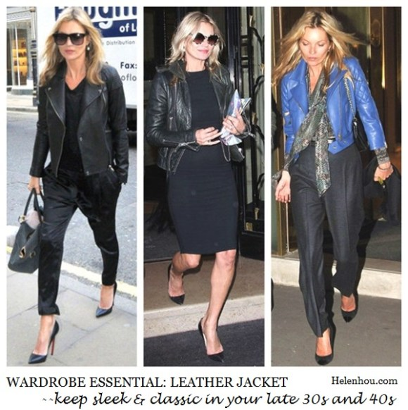 Kate Moss, blue leather jacket, christian louboutin pumps,how to wear leather jacket, what to wear with leather jacket, leather jacket for 30s and 40s,    helenhou, helen hou, the art of accessorizing, accessoriseart, celebrity style, street style, lookbook, model off-duty,red carpet looks,red carpet looks for less, fashion, style, outfits, fashion guru, style guru, fashion stylist, what to wear, fashion expert, blogger, style blog, fashion blog,look of the day, celebrity look,celebrity outfit,designer shoes, designer cloth,designer handbag,