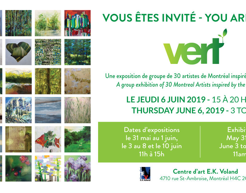 Vert: a group show for spring