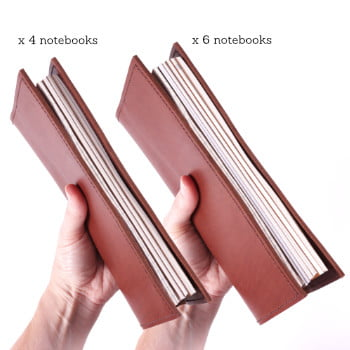Standard TN Slim 4 and 6 notebook comparison