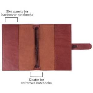 B6 Classic – Tab Closure in Cognac Leather Cover