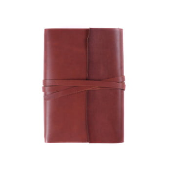 B6 Discovery Wrap Cognac Tie leather cover