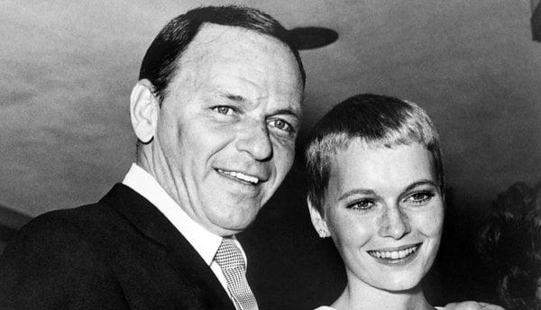 Mia Farrow Frank Sinatra