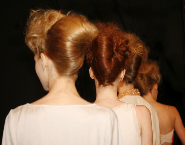 High Voluminous French Twist - 2012