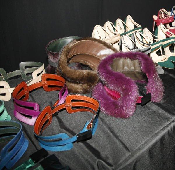 Belts, Carolina Herrera - Fall 2013