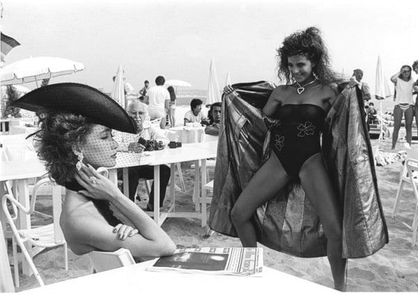 Helmut Newton Book, Beach - 1984