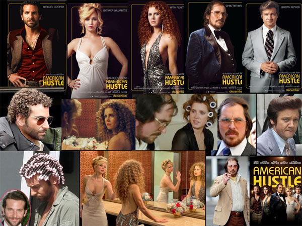 American Hustle, The Movie with Hair - 2013/4