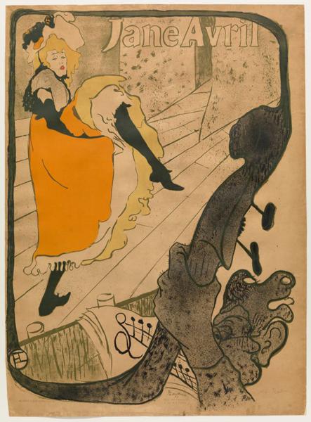 Lithograph: Henri de Toulouse-Lautrec/MoMA