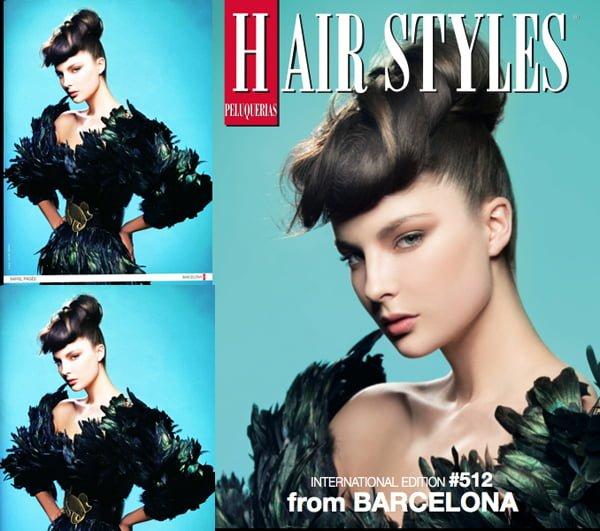 COVER PELUQUERIAS MAGAZINE – JUNE 2014