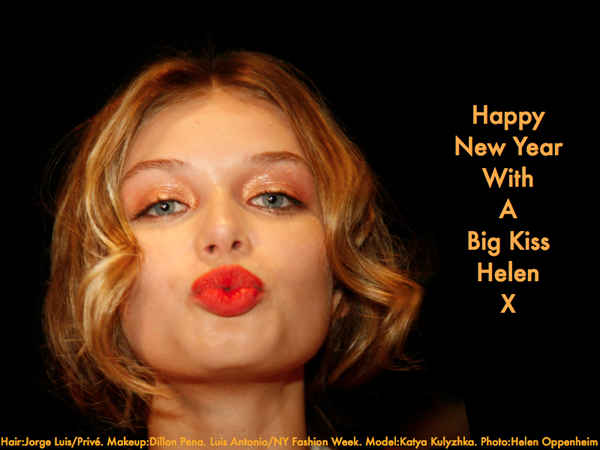 Happy New Year, Big Kiss - 2014