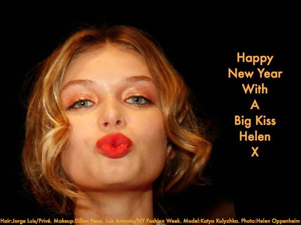 Happy New Year, Big Kiss - 2014