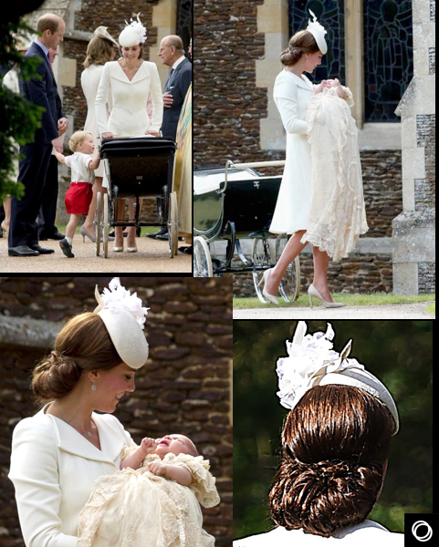 Princess Charlotte Chic  Christening - 2015