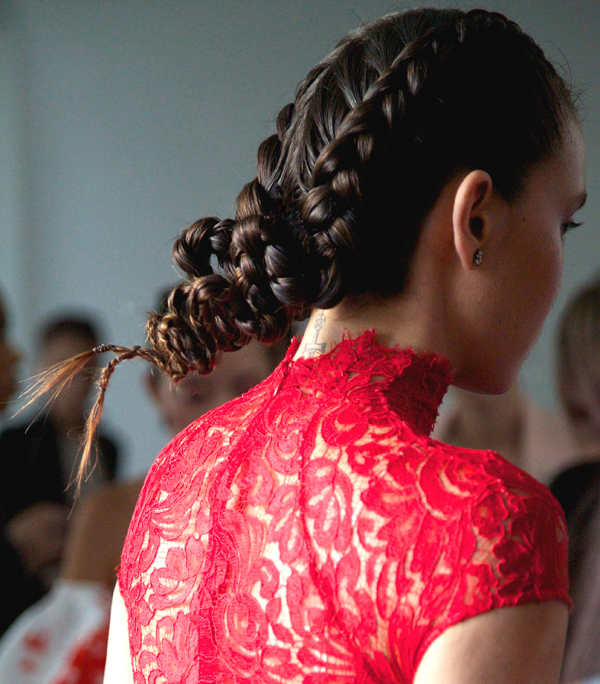 Braided Hair, Sculptured Wired Backs – 2015