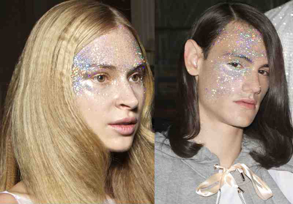 Glitter Glitters on Faces – 2016