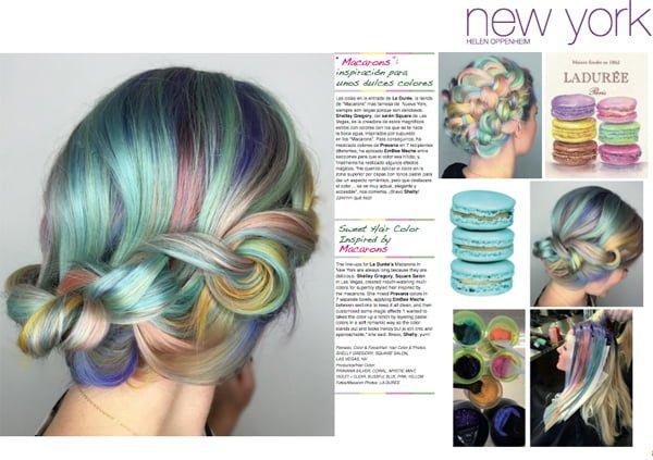 Macarons Inspire Sweet Hair Color – 2016