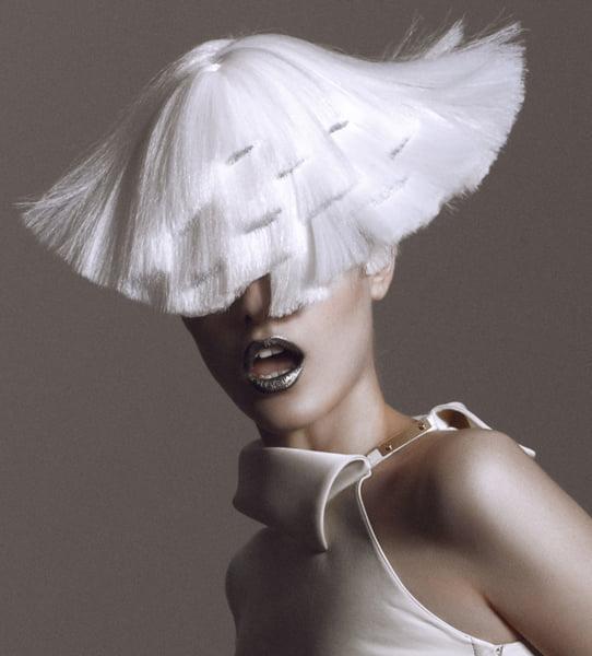 Futurism Hair Captured Mid-Flight– 2012