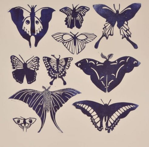 Butterflies Monochrome