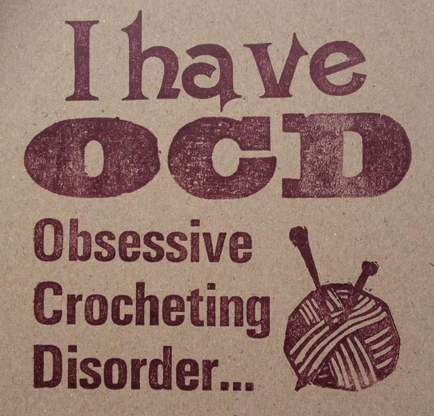 Letterpress Card – Yarndale Crocheting OCD