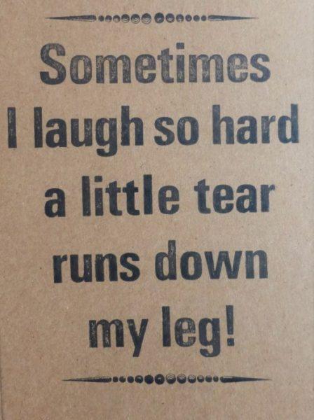 Letterpress Card – Tear