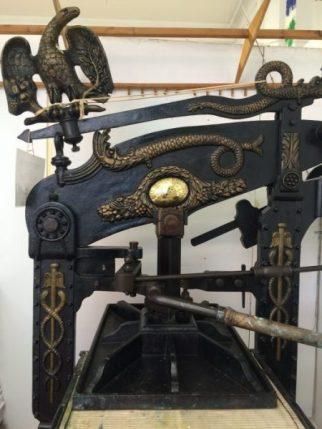 columbian printing press