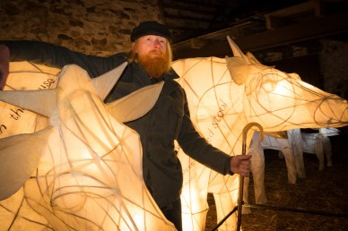 Dry stone waller Vince Banks was one of those who brought the two ghost cows down from Kisdon
