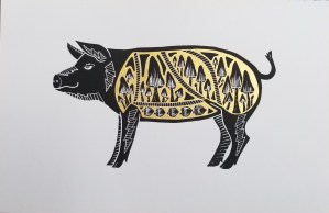you are what you eat - wild pig