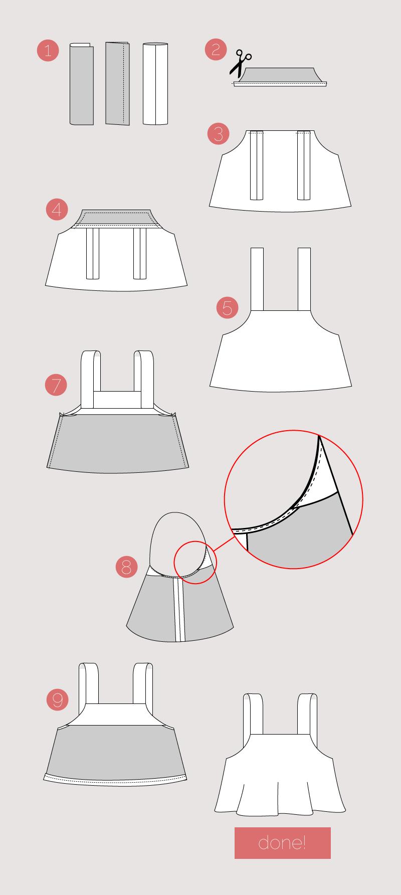Flamingo Top Instructions