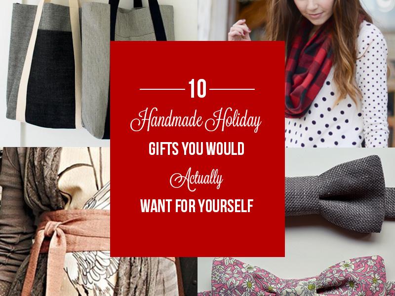 10 Handmade Holiday Gifts