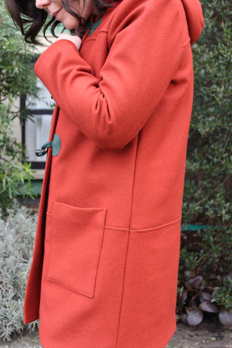 Grainline Studio Cascade Duffle Coat by Helen's Closet